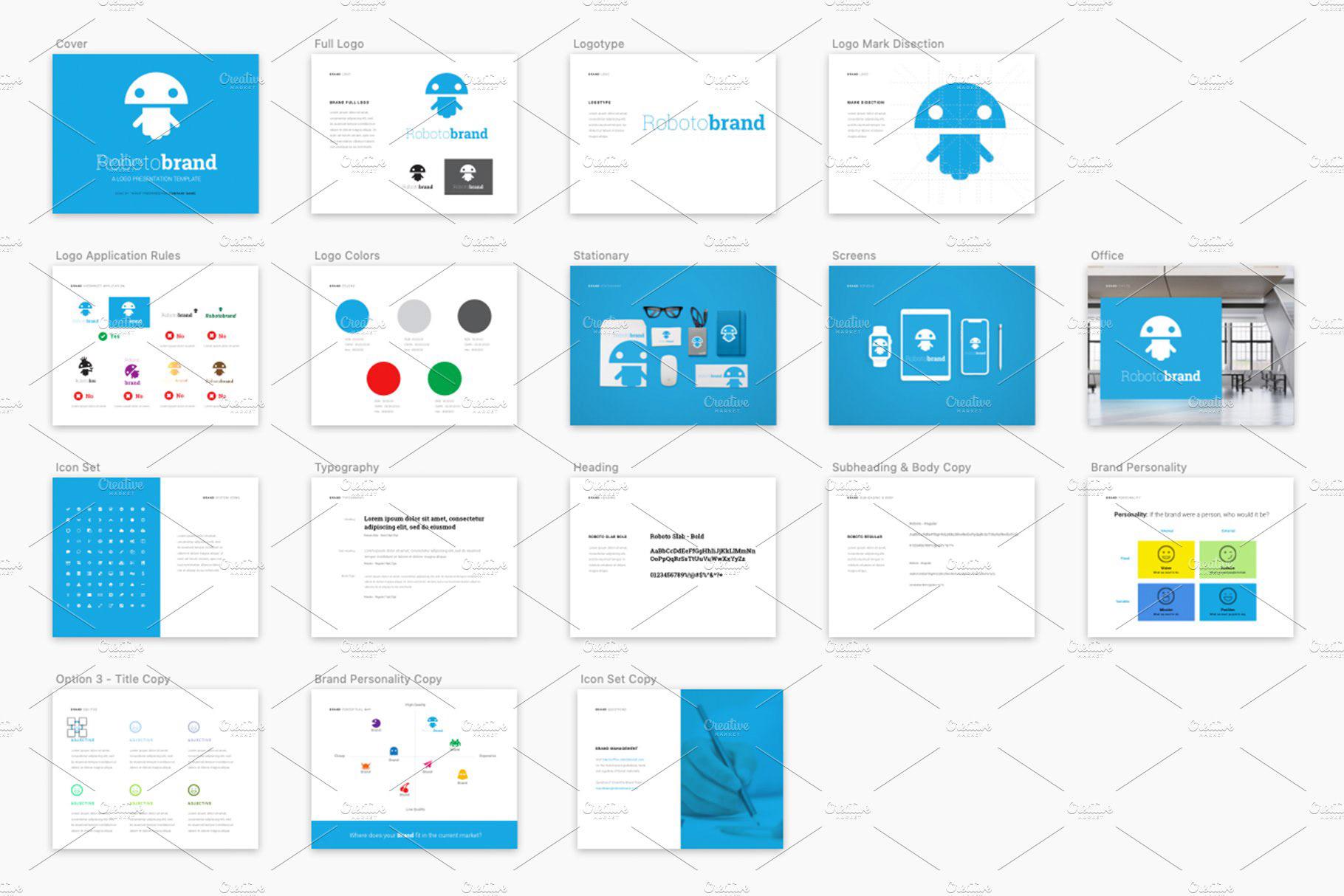 Logo Presentation Template (Ai, PSD, Indd) on Behance.