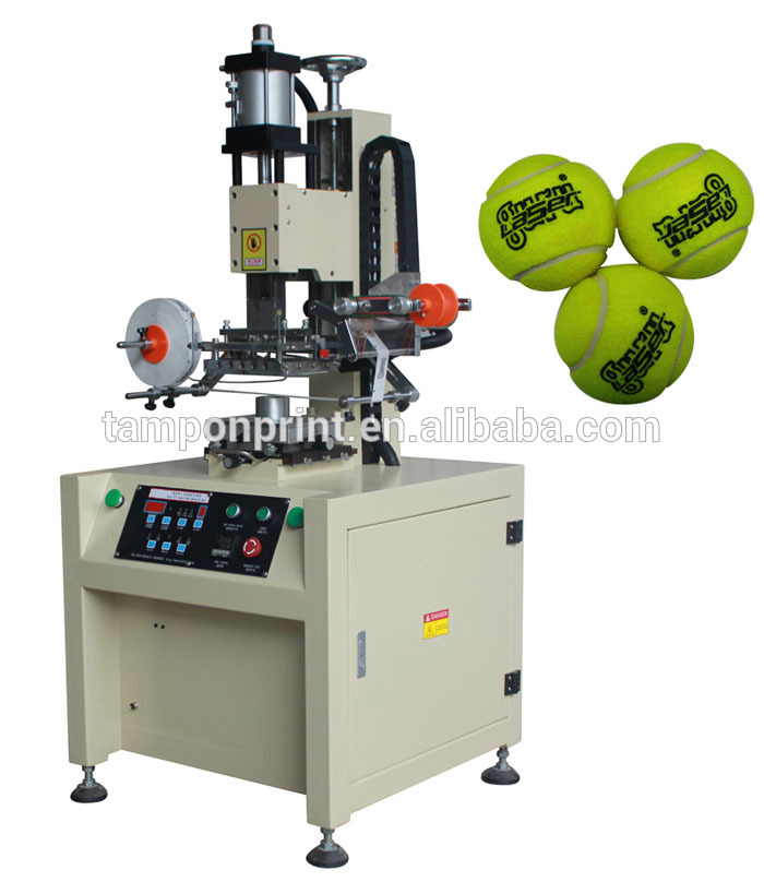 Tennis Ball Logo Printing Machine.