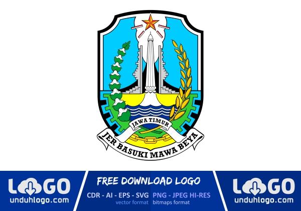 Logo Provinsi Jawa Timur.