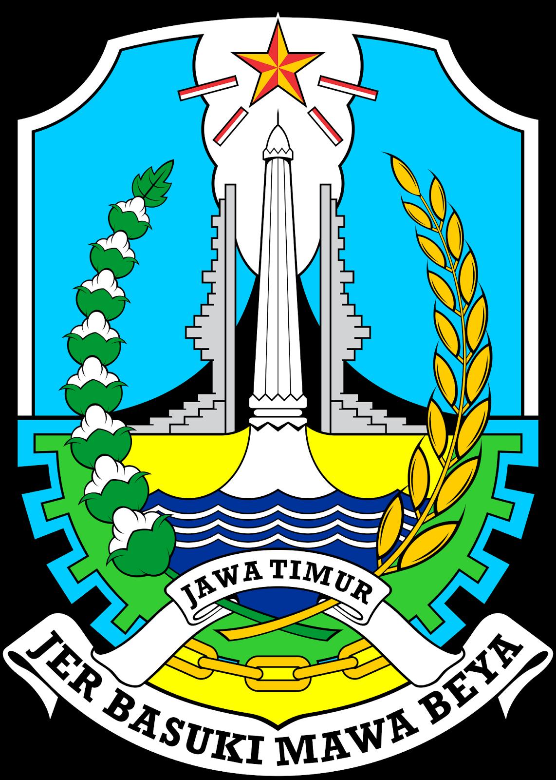 Logo Provinsi Jawa Timur Vector File CDR CorelDraw Download.