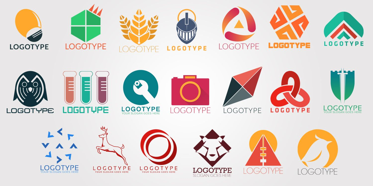 20+ Free Company Logos Download with PSDs.