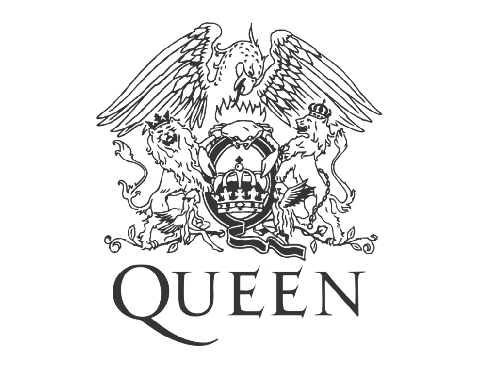 The Queen Logo that Freddy designed himself! in 2019.