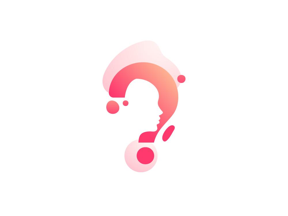 Creative questionnaire logo design by Bojan Sandic on Dribbble.