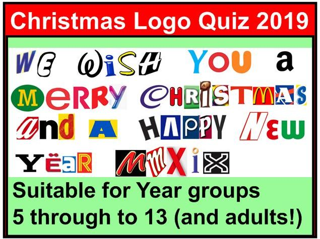 Christmas Logo Quiz 2019.