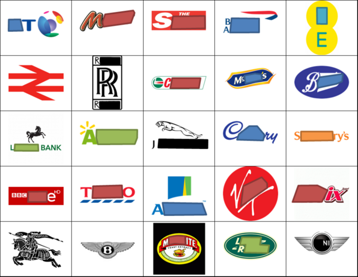 English Logo Quiz.