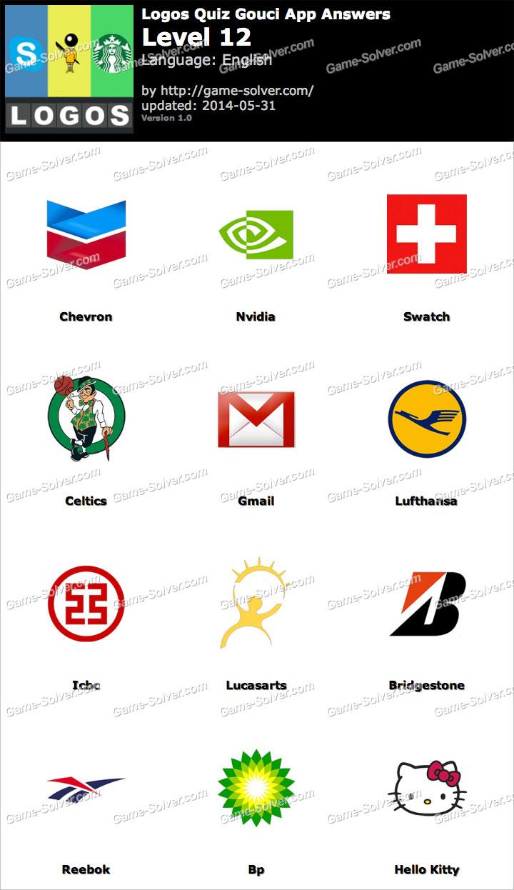 Logos Quiz Gouci App Level 12.