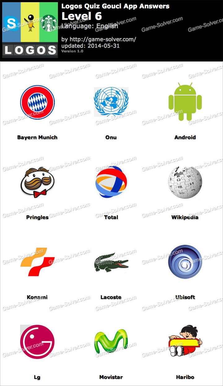 Logos Quiz Gouci App Level 6.