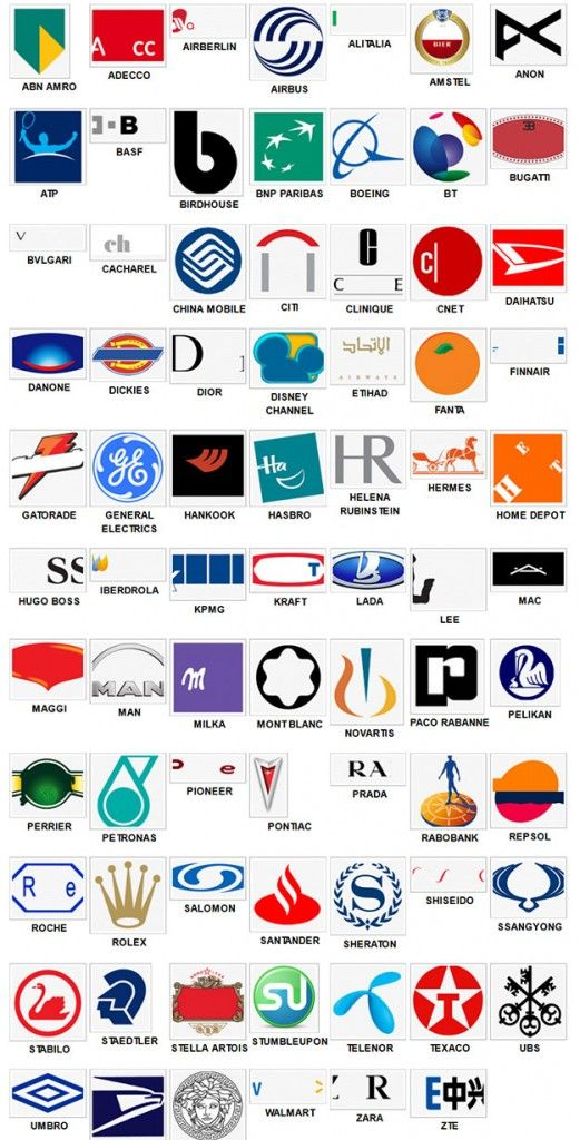 Logos Quiz answers level 6 solutions and answers.