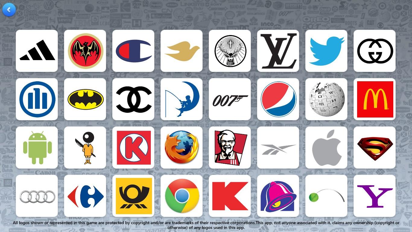 The Logo Game.