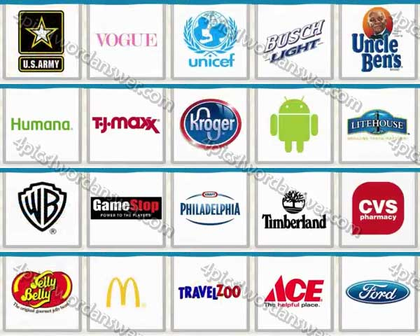Logo Quiz USA Brands Level 61.