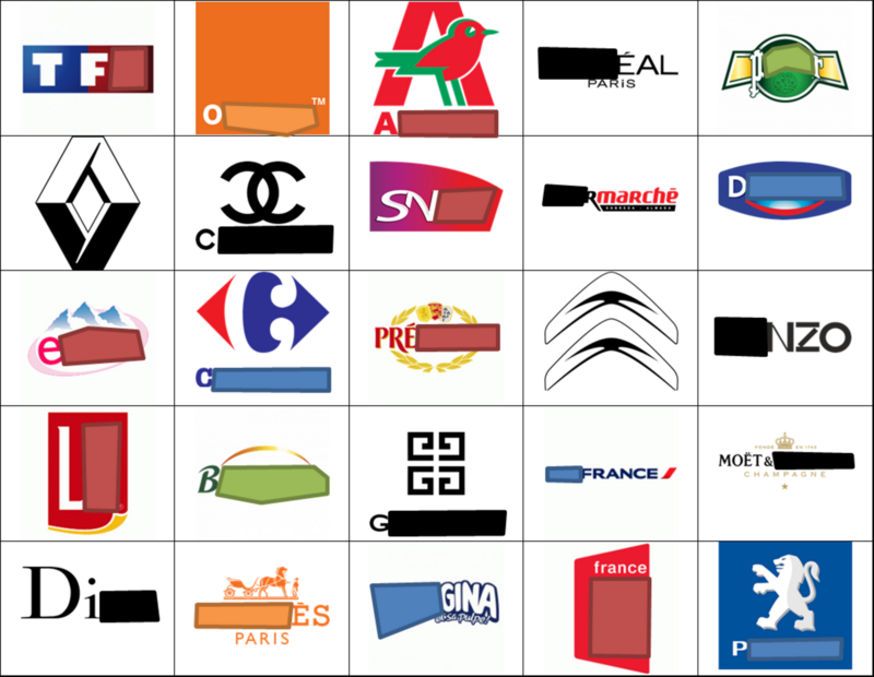 French Logo Quiz.