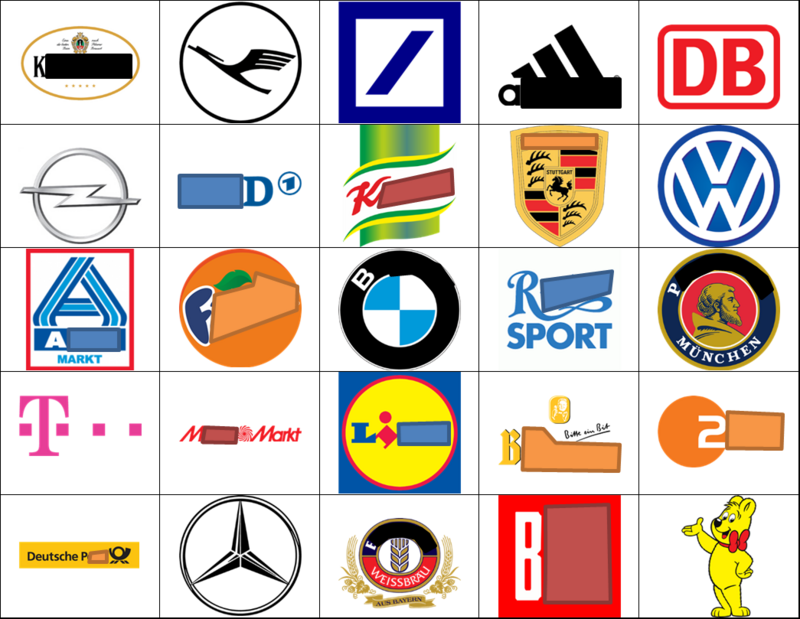 German Logo Quiz.