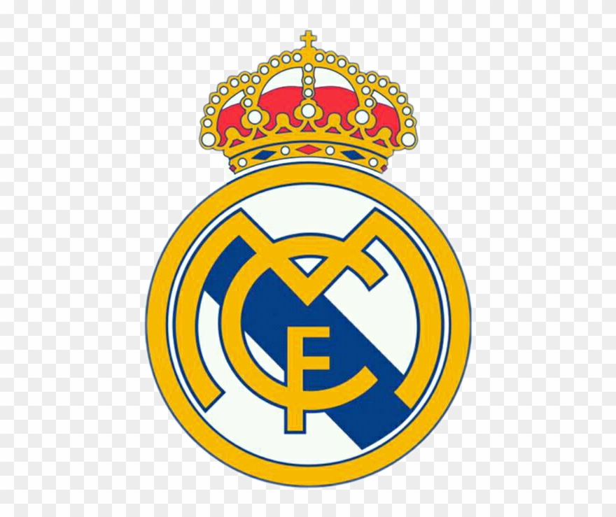Real Madrid Logo Clipart (#1481509).