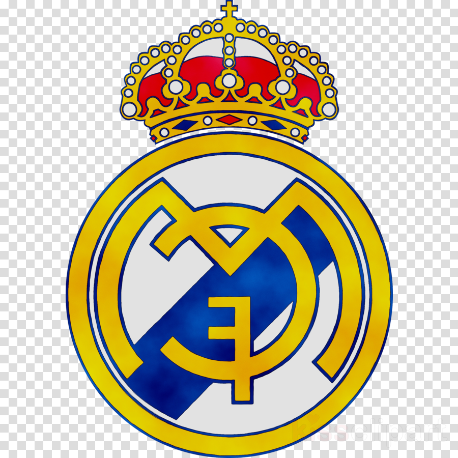 Real Madrid Logo clipart.