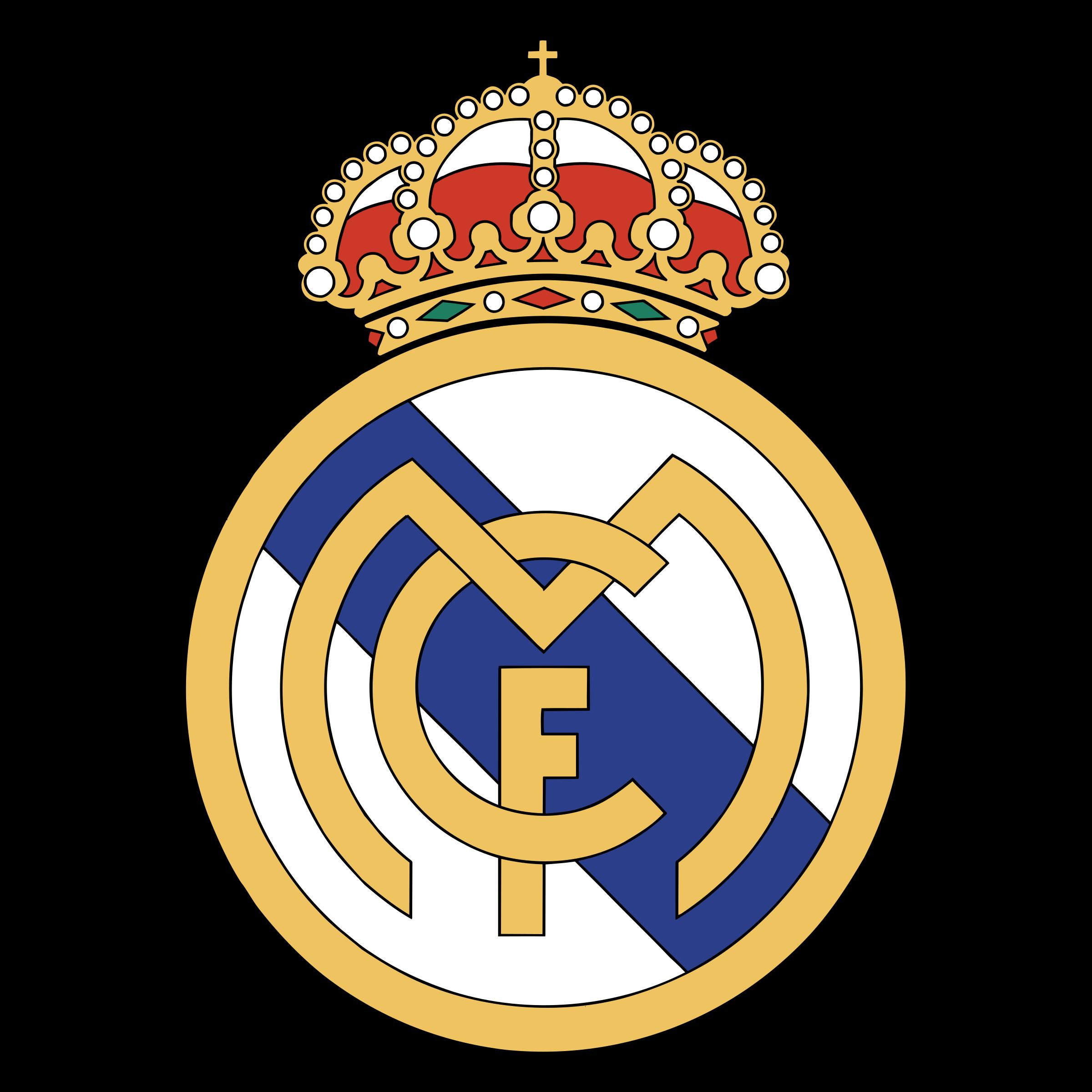 Real Madrid C F Logo PNG Transparent & SVG Vector.
