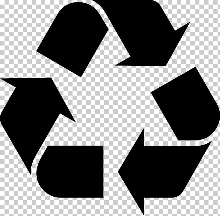 Logo Recycling symbol , recycle bin PNG clipart.
