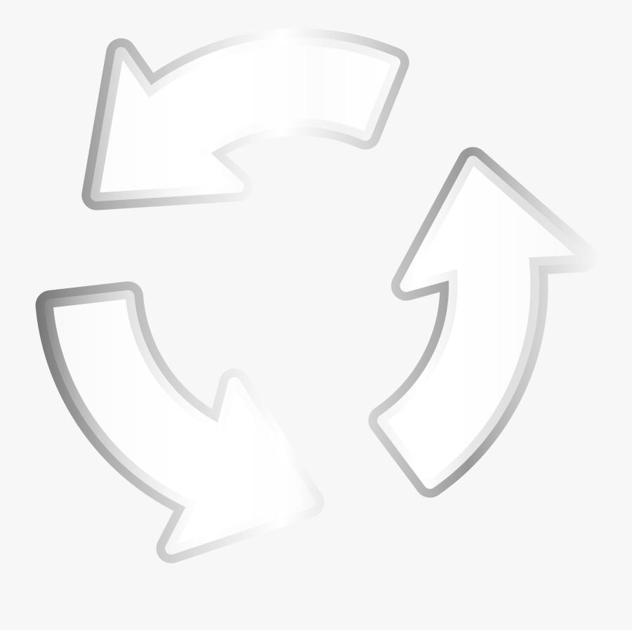 Recycler Steel Arrow Clip Arts.