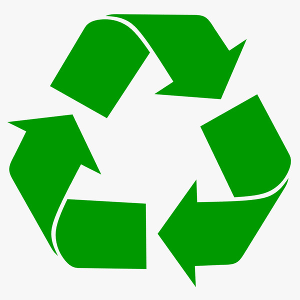 Recycle logo clipart » Clipart Station.
