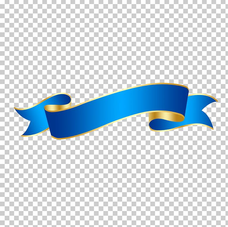 Blue Ribbon Logo PNG, Clipart, Angle, Blue, Color, Colored.