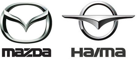 Car company logo rip.