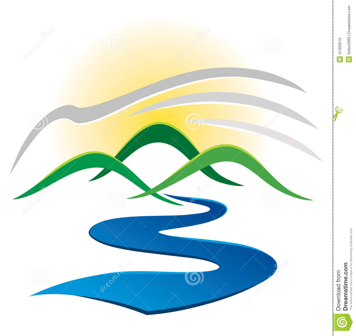 Mountain River Logo.