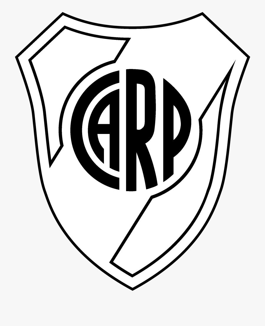 Club Atletico River Plate Logo Black And White.
