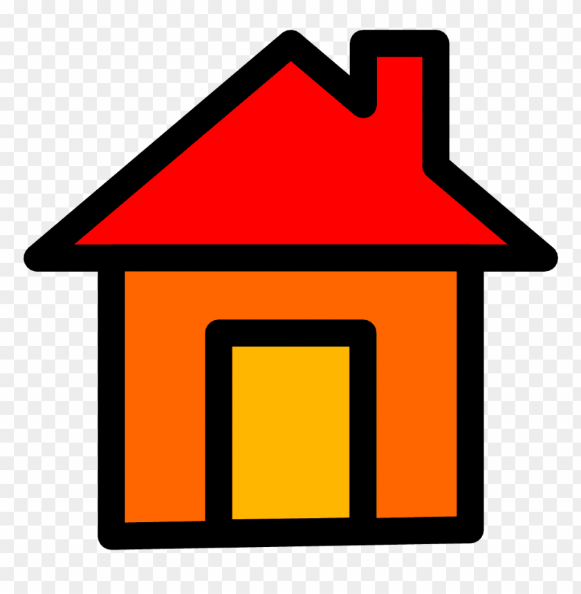 rumah clipart PNG image with transparent background.
