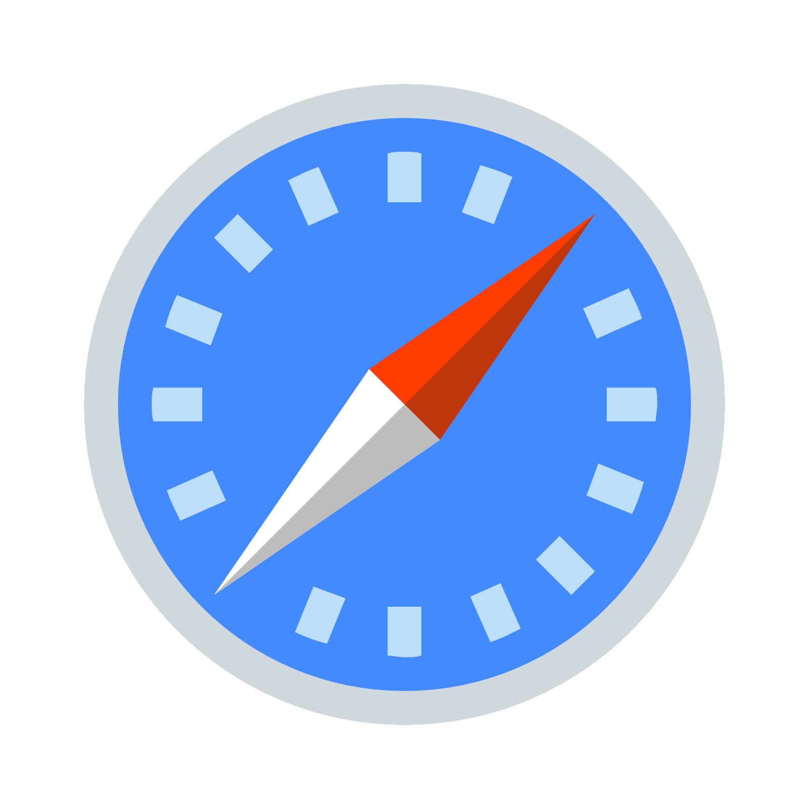 Safari logo PNG images free download.
