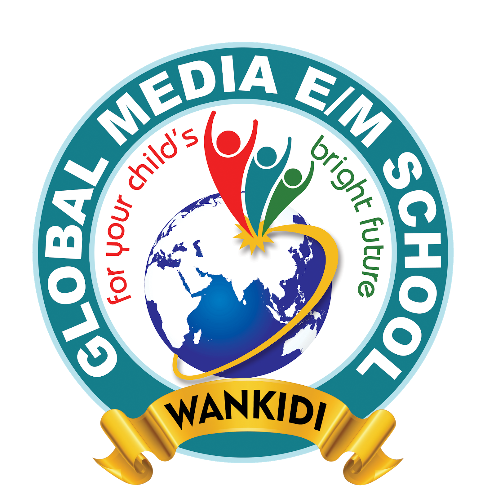 Global media english medium school PNG logo downloads.