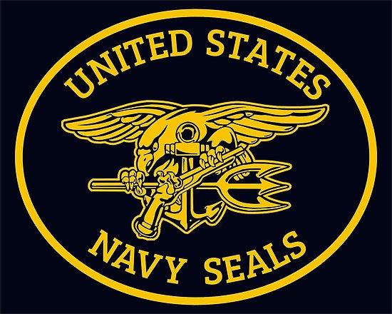 \'U.S. Navy SEALS logo / seal\' Poster by wikingershirts.