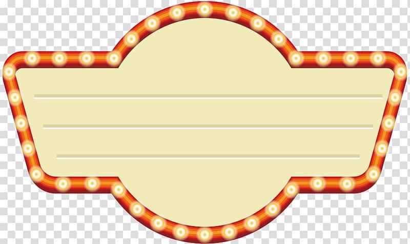 Orange and yellow logo, Shape Set, Badge shaped neon.