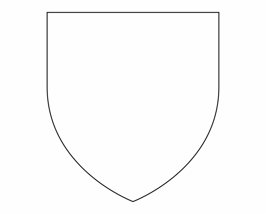 Heraldic Shield Shape.