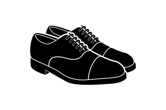 Shoes vector logo.