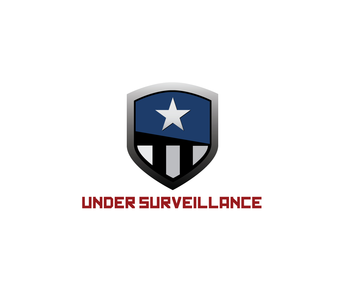 Retail Logo Design for UNDER SURVEILLANCE by The Captain.