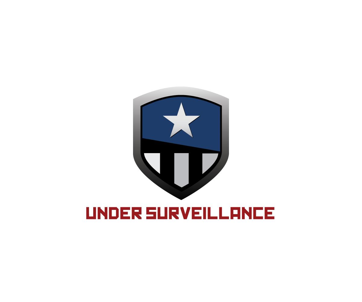 Retail Logo Design for UNDER SURVEILLANCE by The Captain.