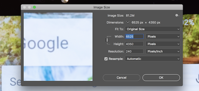 How to Properly Resize Images in Photoshop.