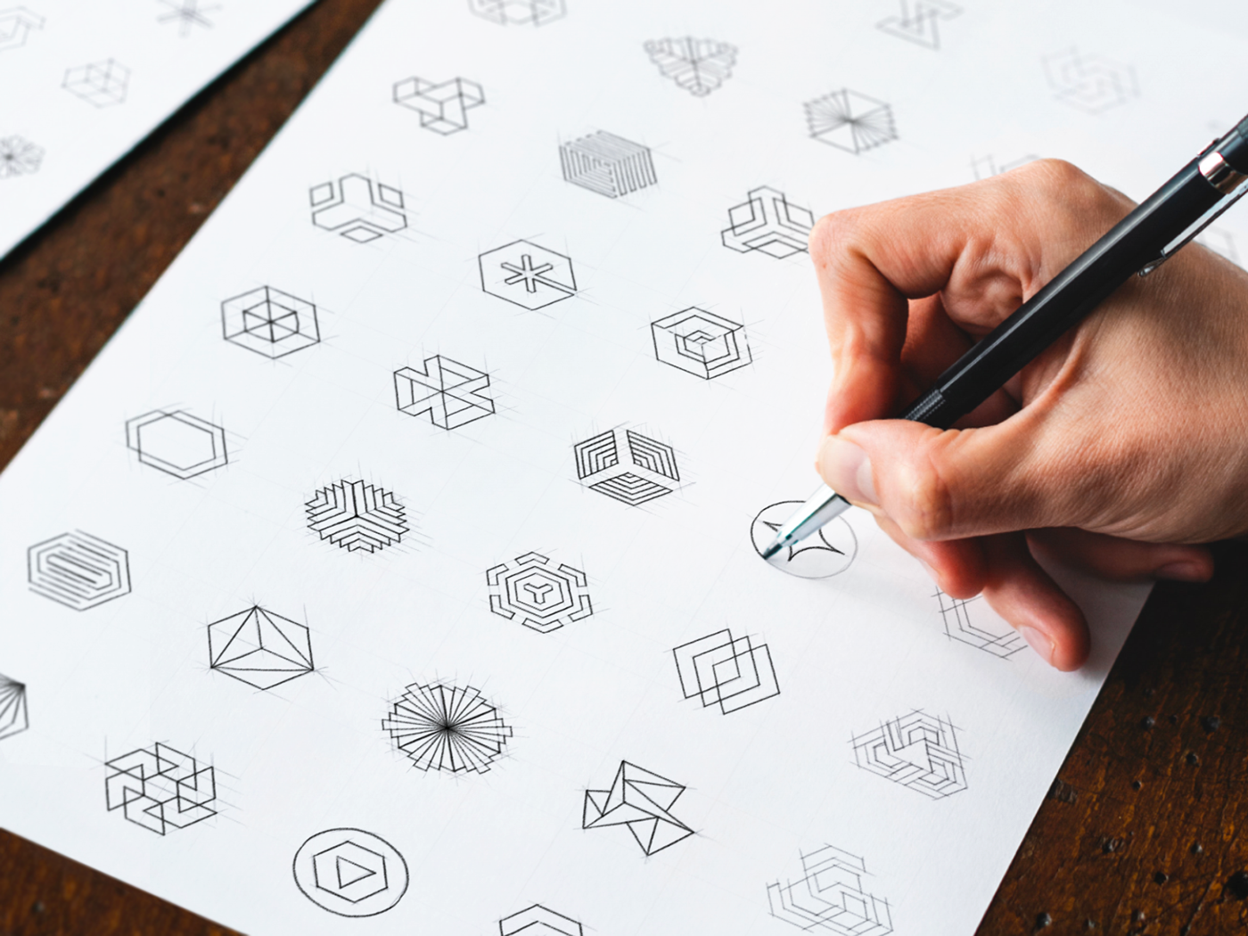 Logo Sketches on Behance.