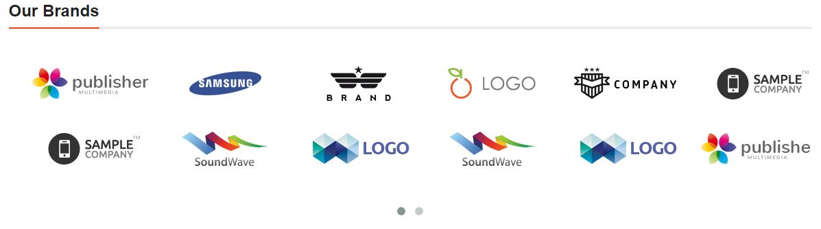 Brand Logo Slider + Parallax for Prestashop.