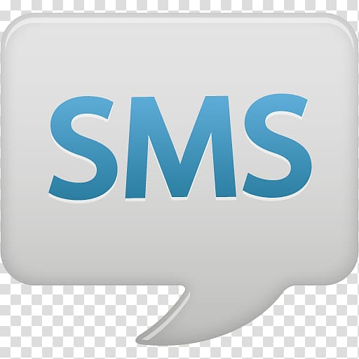 SMS logo, text brand logo, SMS bubble transparent background.