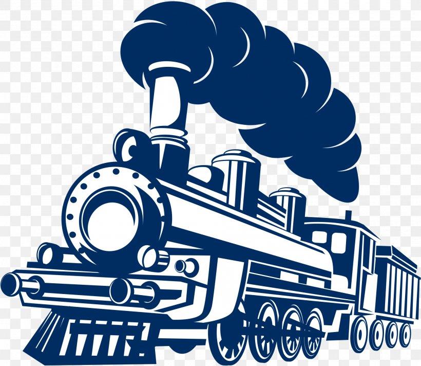 Logo Train, PNG, 1960x1703px, Logo, Art, Black And White.