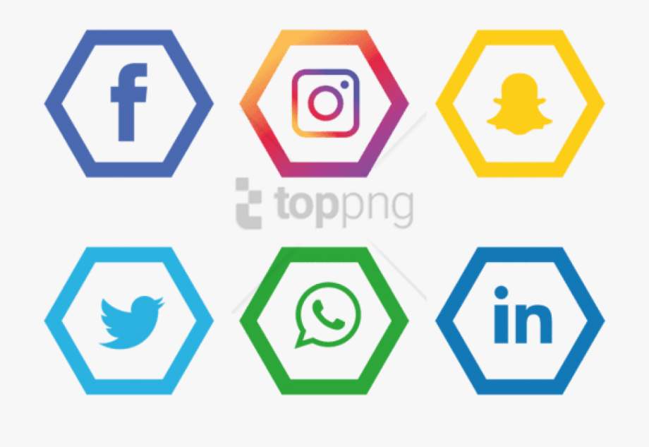 Social Media Logos Png No Background.