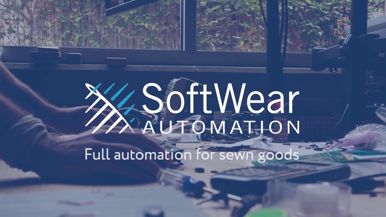 Working at SoftWear Automation.