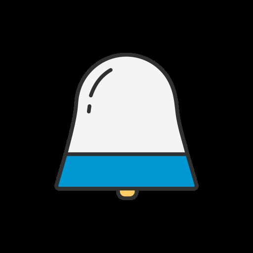 ícone Bell, som Livre de LinkedIn UI.