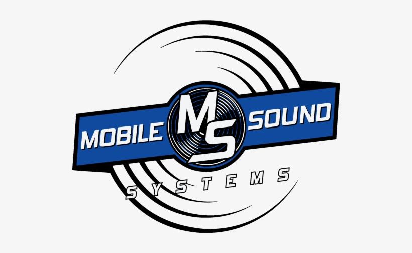 Mobile Sound System Logo PNG Image.