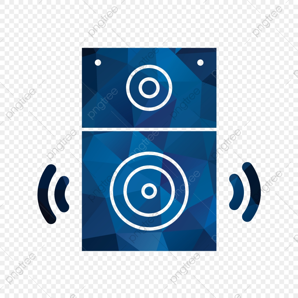 Vector Speaker Icon, Music, Sound, System PNG and Vector.