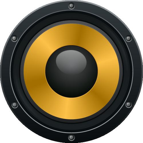 Audio Speaker PNG Image.
