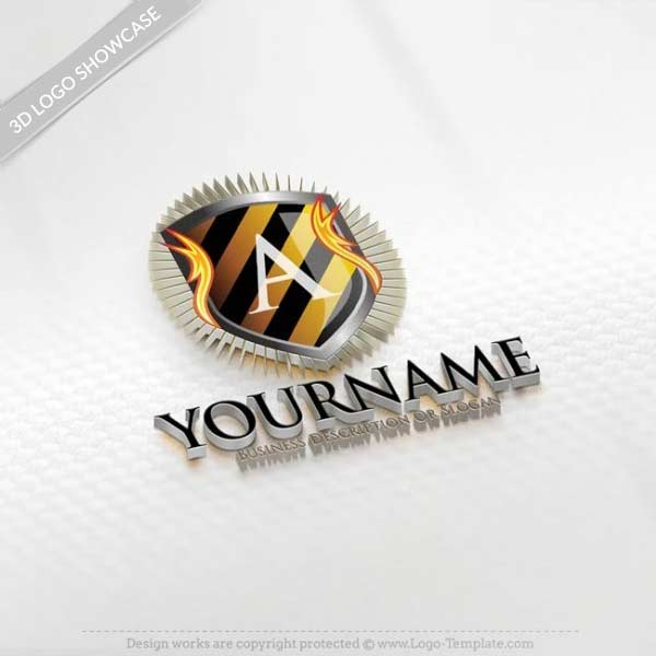 Create Sport flame Logo template Free with Our Logo Online Maker.