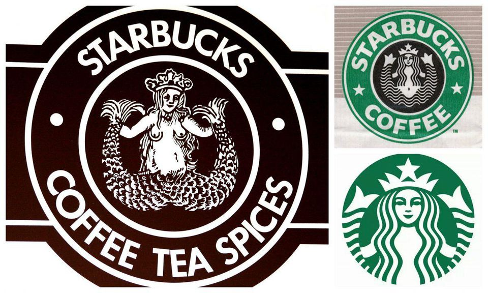 Mermaid, Siren, Princess: How The Starbucks Logo Evolved.