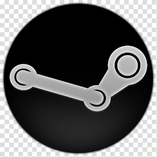 Icon White, steam, Steam icon transparent background PNG.