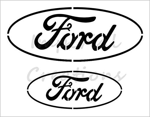 Amazon.com: FORD Car Truck Auto Logo 8.5\